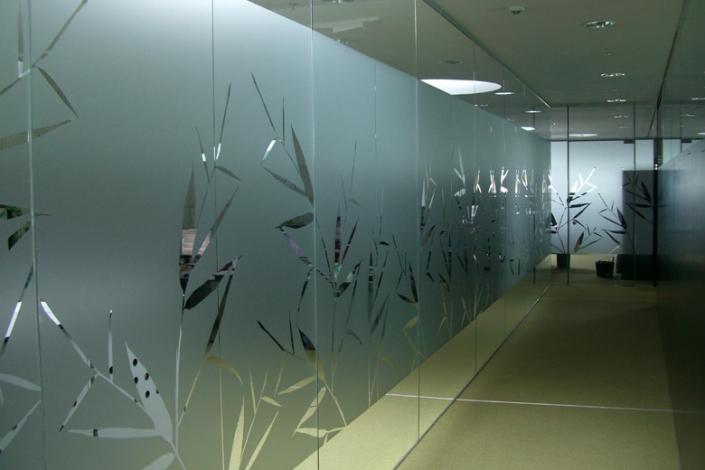 Glasfolierung
